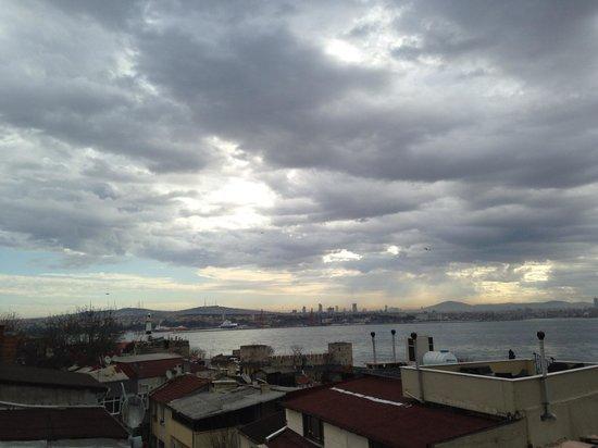 Osmanhan Hotel:                   View from Osmanhan