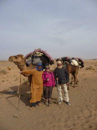 كاسبا موهايوت: avec Bassou, notre guide