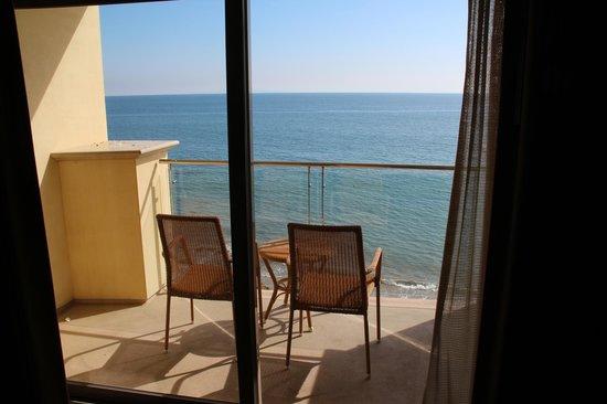 Malibu Beach Inn: прямой вид на океан