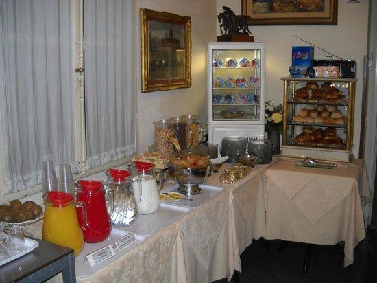 Hotel Maxim:                   buffet