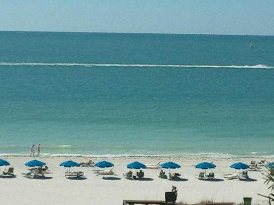 Hilton Marco Island Beach Resort:                   View from Room Balcony - 5th floor