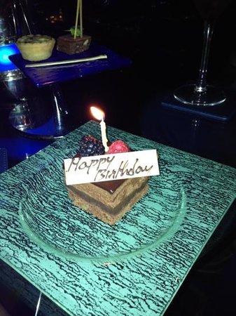 Le Meridien Mina Seyahi Beach Resort and Marina:                   La mia Tortina di compleanno