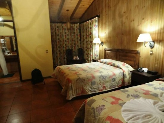 Savegre Hotel, Natural Reserve & Spa:                                     Inside our room