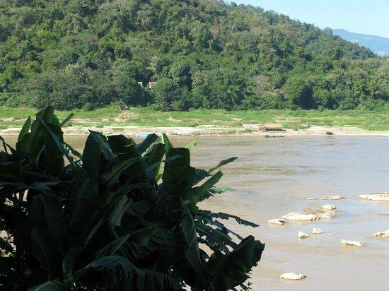 Mekong Riverview Hotel: vue de la terrasse