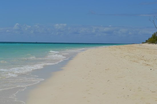 Grand Lucayan, Bahamas:                   Beach