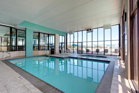 Indoor Heated Pool Picture Of Suntide Iii Condominiums