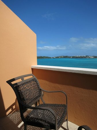 Grotto Bay Beach Resort:                   Lovely private balcony