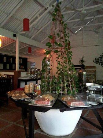 ลา นิช ดิ อังกอร์ บูติก โฮเต็ล:                   Dining Area/Restaurant