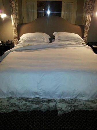 Eliot Hotel:                   Supremely comfortable sleep.