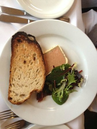 The Pig's Ear :                                     pate