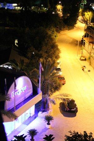 Flamingo Hotel: reception