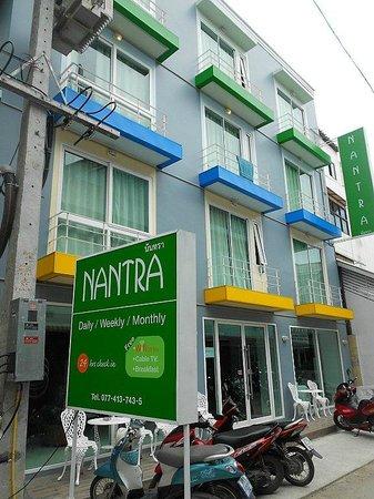 Nantra Chaweng Beach :                   ingresso dell'albergo