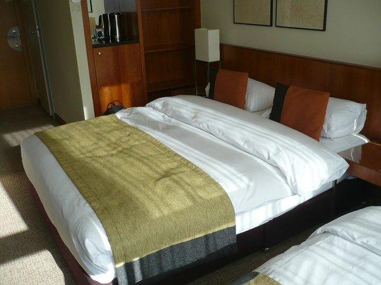 K+K Hotel George:                   la chambre
