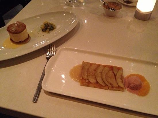 West Restaurant + Bar:                   Dineout menu, dessert. wasn't impress