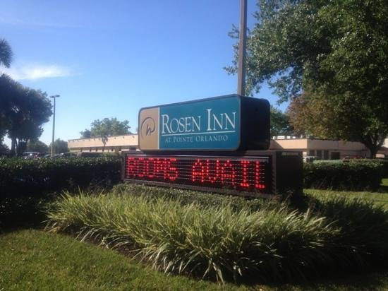 Rosen Inn at Pointe Orlando: entrance sign