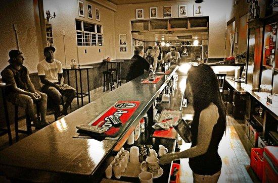 The bar classic laid-back