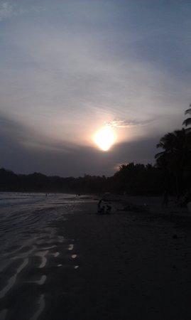 Villas Kalimba: sunset