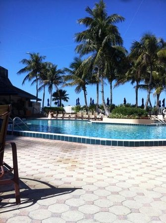 Hilton Marco Island Beach Resort:                   pool deck