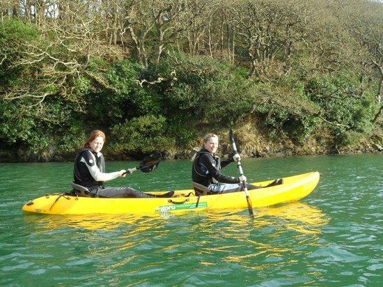 Koru Kayaking: Kayaking down Frenchman's Creek