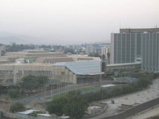Radisson Blu Hotel, Addis Ababa: UNCC View from Room