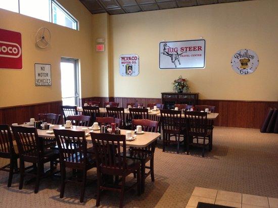 The Big Steer: Banquet Room