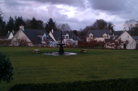 Auchrannie Spa Resort:                   Lodges