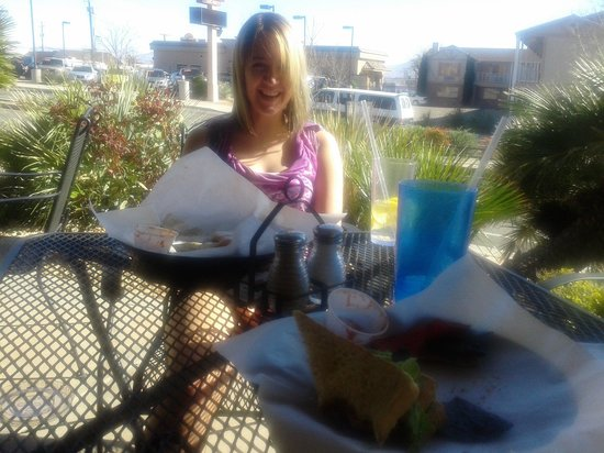Cafe Allure :                   lunch date
