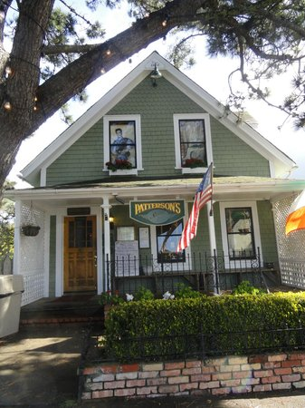 Patterson's Pub:                   Looks like a house or a B & B!! Super cute!