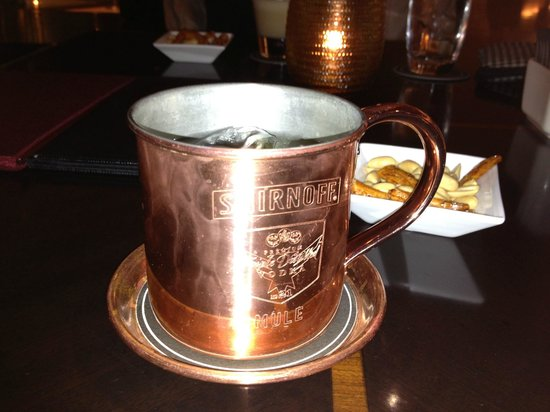 Hilton Tokyo:                   Moscow Mule from the bar!!!!!