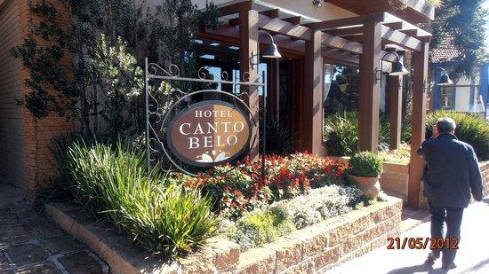 Hotel Canto Belo: Fachada do Hotel