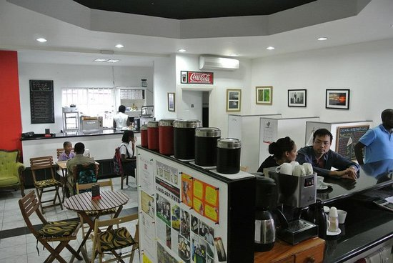 Dekal Internet Cafe & Bistro : from another angle