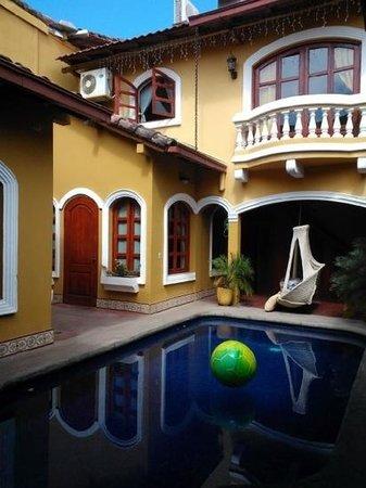 Casa del Agua: cour intérieure