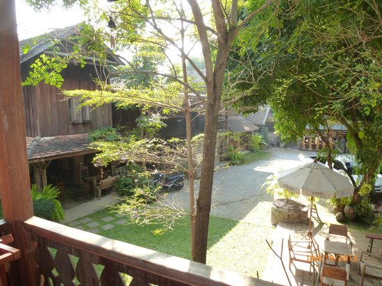 Tanita House:                   View from our room