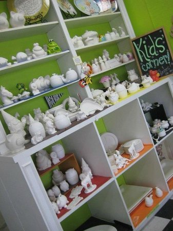 The Painted Pig: Kid's Pottery Selection