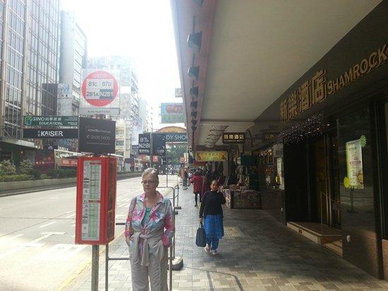 Shamrock Hotel: Entre till hotell
