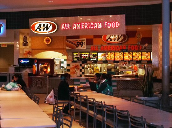 A&W - Meriden Mall Food Court - Okemos, MI - Picture of A ...