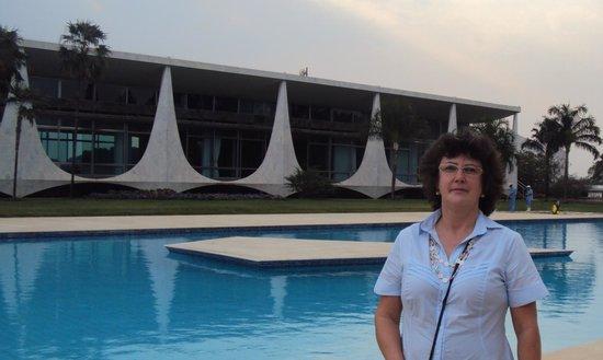 St Paul Plaza Hotel:                   Palácio da Alvorada - Brasília