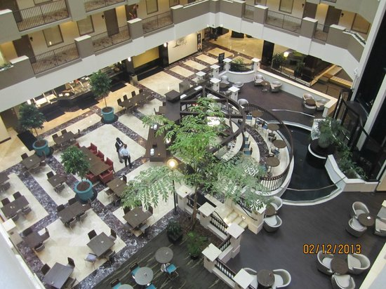 Embassy Suites by Hilton Orlando Downtown: View of lobby