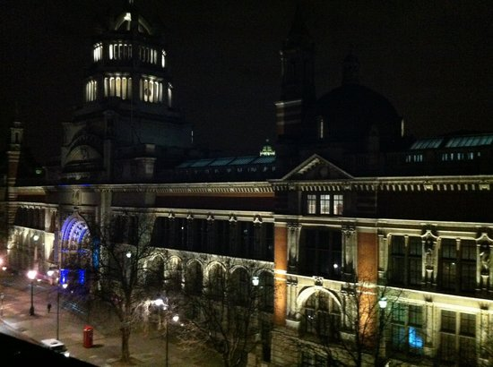 The Rembrandt:                   View from our room of B&A museum