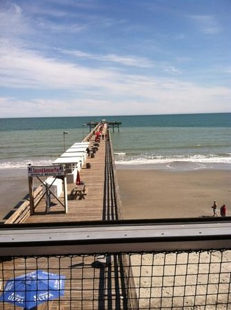 2nd Avenue Pier Restaurant View From Upstairs