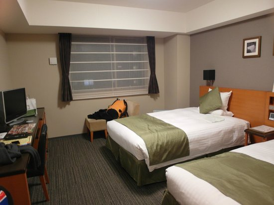 Hotel MyStays Kyoto Shijo:                   兩單床