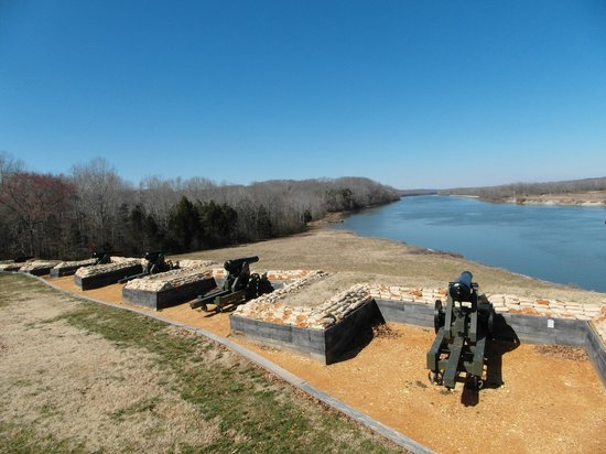 Fort Donelson National Battlefield: View to the river
