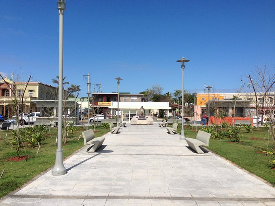 Aromas Coffee & Crepes:                   Town Square in Luquillo