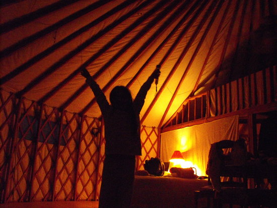 Cochise Stronghold, A Nature Retreat: A Good Morning in the Yurt