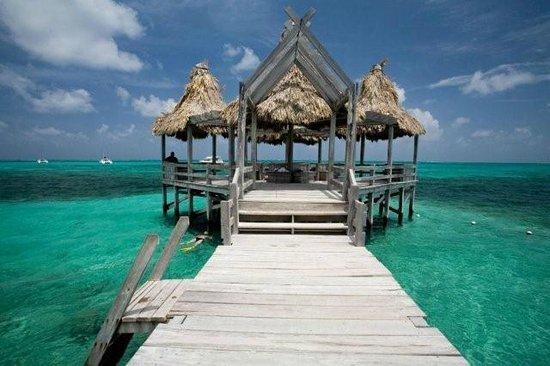 Ambergris Caye, Belize:                                     .