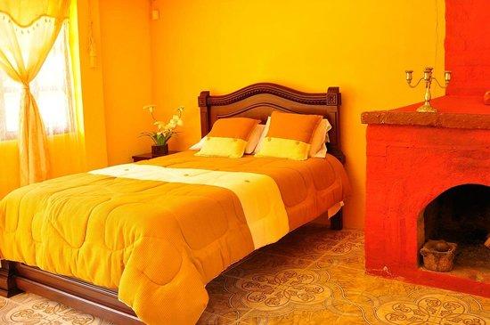 Casa de Campo Las Orquideas: Habitacion Romantica