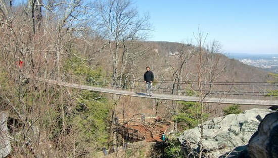 Lookout Mountain, GA:                   Swinging Bridge