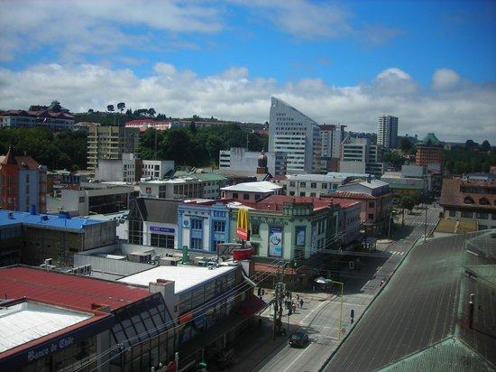 Apart Hotel Colon:                   Vista de Puerto Montt