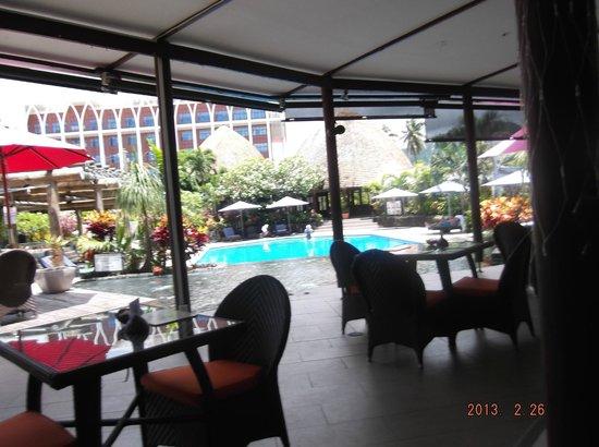 Tanoa Tusitala Hotel:                   Dining area