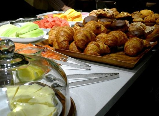 Grand Hyatt New York: Grand Club Breakfast